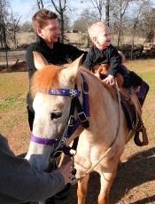 Pony Rides for Children at Pine Tree Apple Orchard, White Bear Lake